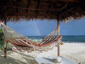 South shore Roatan Beach at Coral Beach Inn